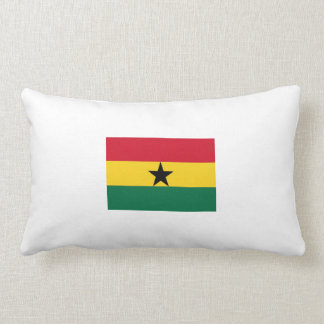 Coussin Rectangle zijdige embrasser «drapeau ghanéen».