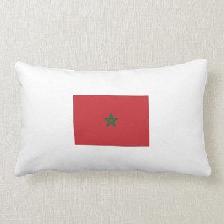 Coussin Rectangle zijdige embrasser «drapeau marocain».
