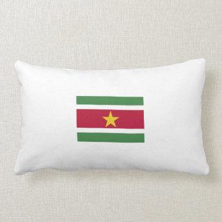 Coussin Rectangle zijdige embrasser «drapeau surinamais».