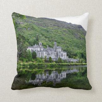 Coussin Réflexion d'abbaye de Kylemore