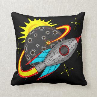 Coussin Rétrofusée dans l'espace