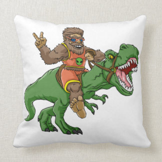 Coussin rex Bigfoot de rex-T de la Bigfoot-bande dessinée