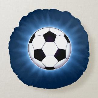 Coussin rond de ballon de football