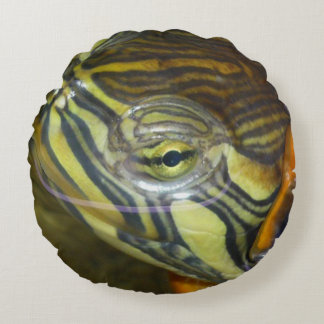 Coussin rond Tortue