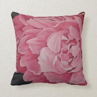 Coussin rose de beaux-arts de pivoine