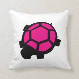 Coussin rose de tortue