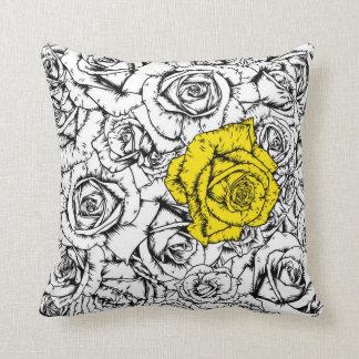 Coussin Rose jaune