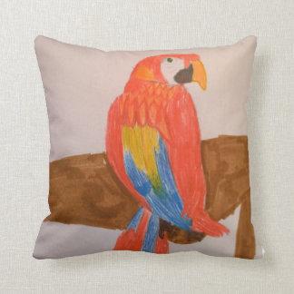 Coussin rouge de perroquet de Toytastic