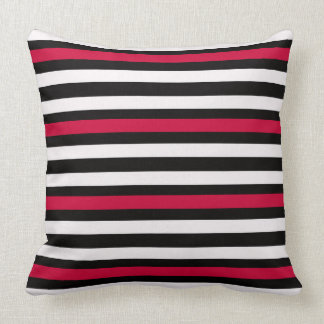 Coussin Rouge horizontal moderne de BW
