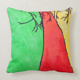 Coussin Route rouge