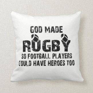 Coussin Rugby - ainsi les joueurs de football ont des
