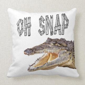 Coussin RUPTURE de l'OH - alligator fâché