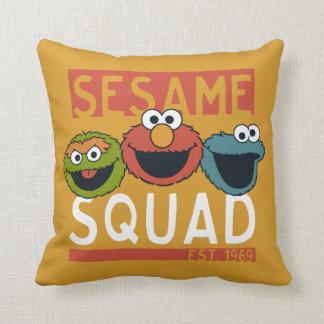 Coussin Sesame Street - peloton de sésame