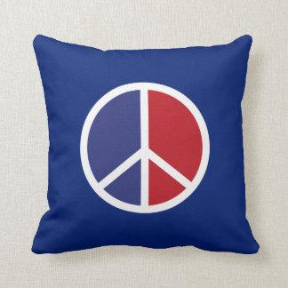 Coussin Signe de paix et d'amour