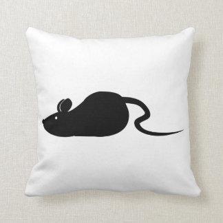 Coussin Silhouette de souris