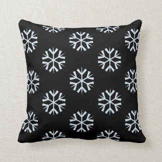 Coussin simple de flocon de neige