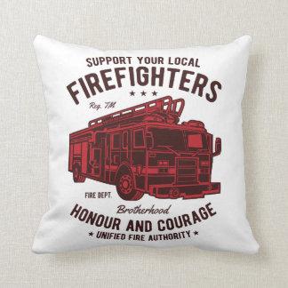 Coussin Soutenez vos pompiers locaux