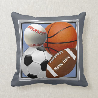 Coussin Sports - décor orienté de Bedoom de sports de