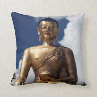 Coussin Statue se reposante de Bouddha