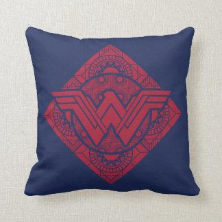 Coussin Symbole amazonien de femme de merveille