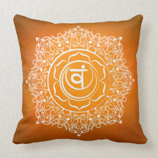 Coussin symbole Svadhistana