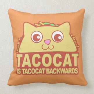 Coussin Tacocat vers l'arrière II