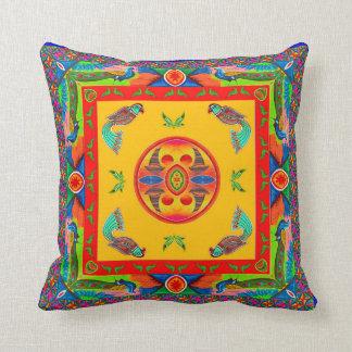 Coussin Taie d'oreiller inspirée par art de camion -
