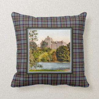 Coussin Tartan vintage de Stirling Bannockburn de château