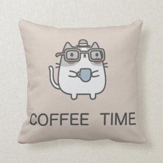 Coussin Temps de café