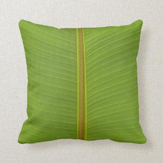 coussins en feuille de palmier personnalis s. Black Bedroom Furniture Sets. Home Design Ideas