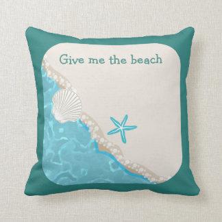 Coussin Thème mignon de plage
