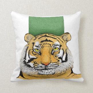 Coussin Tigre Griffonné