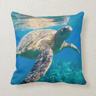 Coussin Tortue de mer, tortue marine, Chelonioidea,
