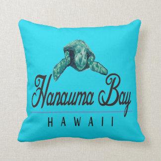 Coussin Tortue de mer verte d'Hawaï