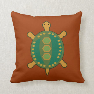 Coussin Tortue tribale