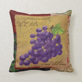Coussin toscan de raisins