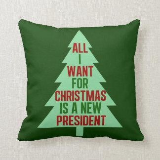 Coussin Tout que je veux pour Noël est un nouveau