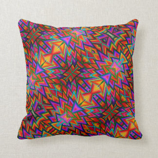Coussin Triangles - Throw Pillow