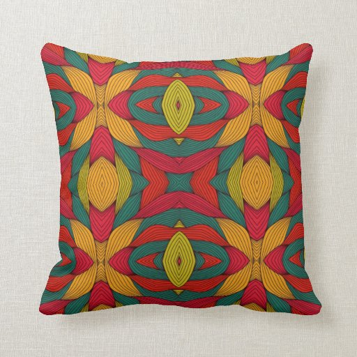 Coussin tribal africain