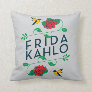 Coussin Typographie florale de Frida Kahlo |