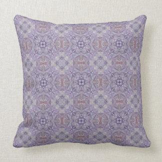 Coussin ultra-violet de motif d'édredon