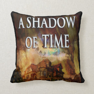Coussin Une ombre de carreau de concepteur de temps