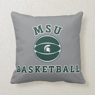 Coussin Université de l'Etat d'État du Michigan du