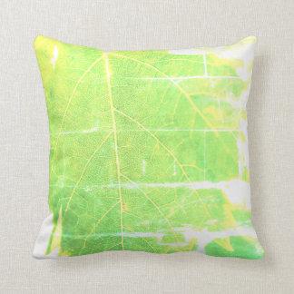 Coussin vert de coussin de foyer de ciel bleu de