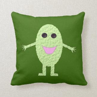 Coussin vert heureux de raisin