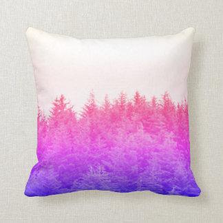Coussin vibrant d'arbres
