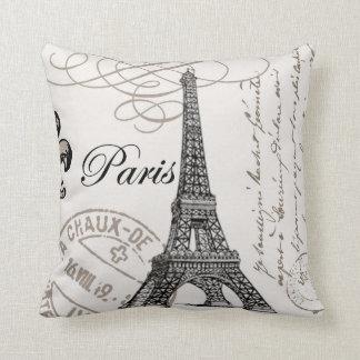 Coussin vintage de Paris…