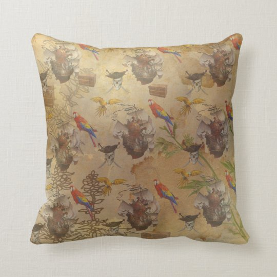 Coussin vintage pirate