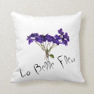 coussin Violettes