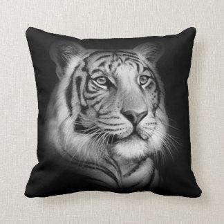 Coussin Visage blanc de tigre